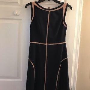 Navy Adrianna papell dress